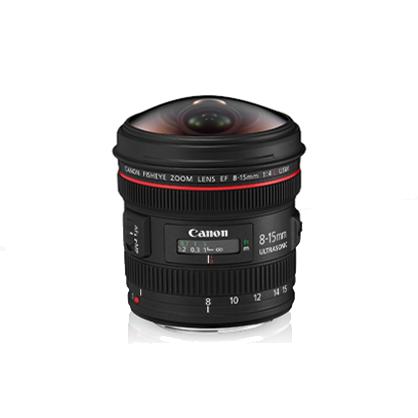 Objetivo Canon EF 8-15mm f/4L Fisheye USM