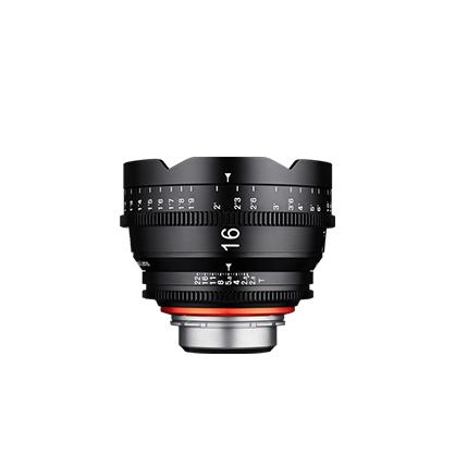 Objetivo Samyang XEEN 16mm T2.6