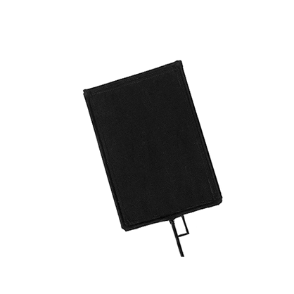 Bandera Avenger 76x91cm - Tela negra