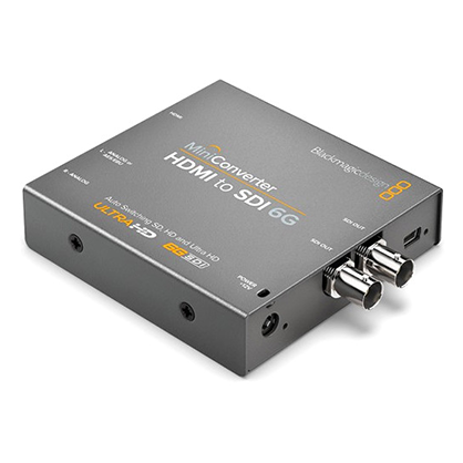 Conversor Blackmagic Mini Converter HDMI to SDI 6G