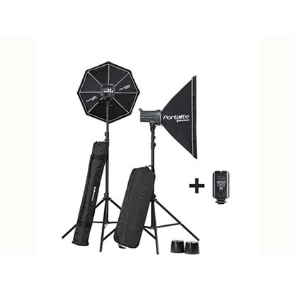 Kit 2 flash Elinchrom D-Lite RX 4/4 SOFTBOX TO GO