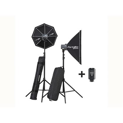Kit 2 flash Elinchrom D-Lite RX ONE/ONE SOFTBOX TO GO