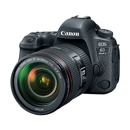 Canon EOS 6D Mark II + Objetivo Canon EF 24-105mm f/3.5-5.6 IS STM
