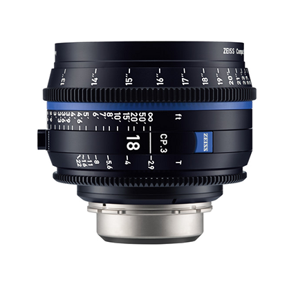 Objetivo Zeiss Compact Prime CP.3 18mm T/2.9