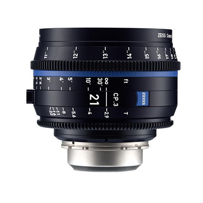 Objetivo Zeiss Compact Prime CP.3 21mm T/2.9