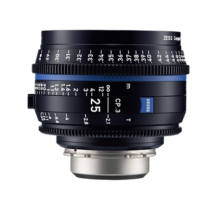 Objetivo Zeiss Compact Prime CP.3 25mm T/2.1