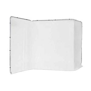 Fondo Lastolite panorámico blanco 4x2,35m