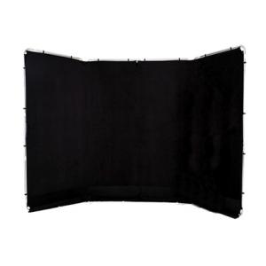 Fondo Lastolite panorámico negro 4x2,35m