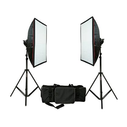 Kit 2 Softbox 1000W Mettle 3200K