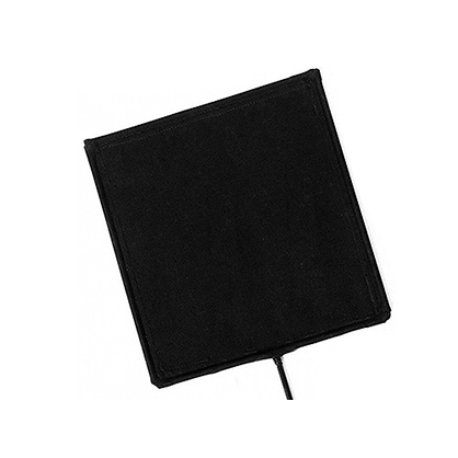 Bandera Avenger 102x102cm · Tela negra