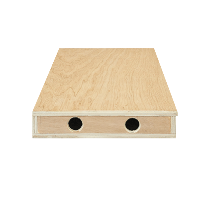 Cajón de madera 5 x 25 x 60 cm