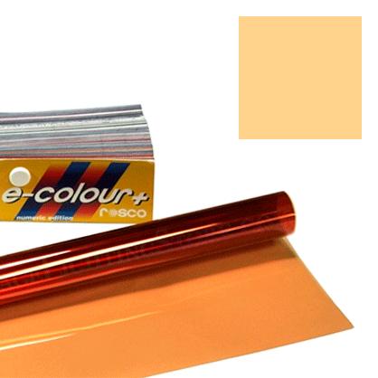 Rollo filtro E-colour #205 Naranja 1/2 CTO · 762x122cm