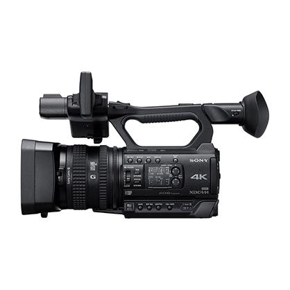 Sony PXW-Z150 - Vista lateral