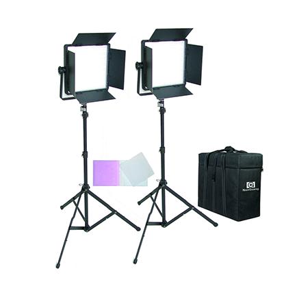 Kit 2 paneles LED bicolor NanGuang CN-600CSA 3200K-5400K