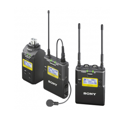 Micrófono inalámbrico de corbata Sony UWP-D16/K33